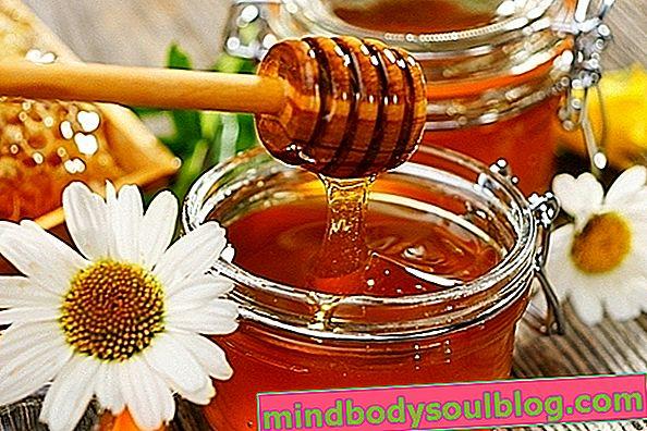 Honigmaske für Gesicht