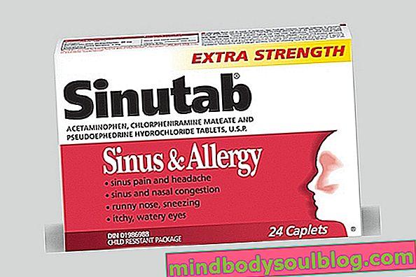 Sinutab pour soulager les symptômes des sinus