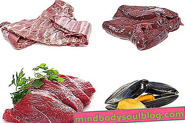 Как да се храним с богата на желязо диета за лечение на анемия