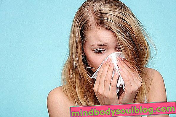 נזלת Vasomotor: מה זה, תסמינים עיקריים וטיפול