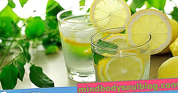 Eau au citron: comment faire le régime citron pour perdre du poids