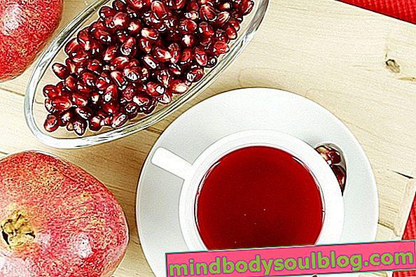 Thé à la grenade pour les maux de gorge