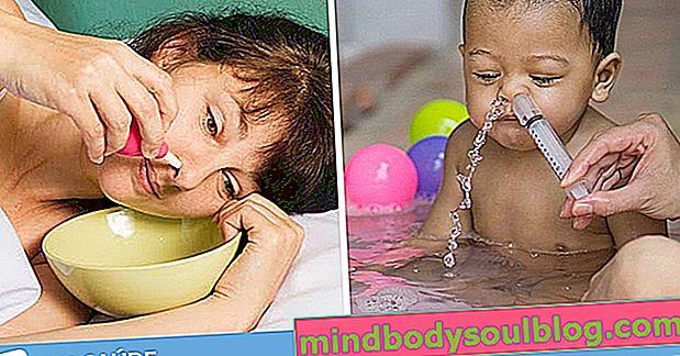Wie man die Nasenwäsche macht, um die Nase zu verstopfen
