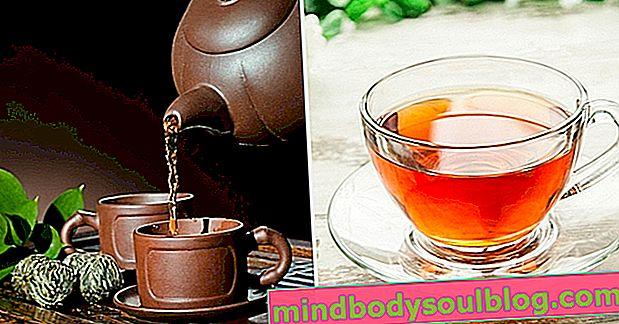 5 thés pour mettre fin à la diarrhée