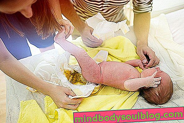 Cirit-birit pada bayi: bagaimana mengenali, sebab dan apa yang perlu dilakukan