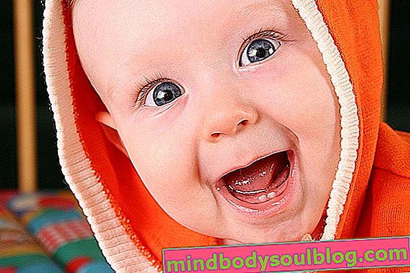 最初の歯の誕生の症状