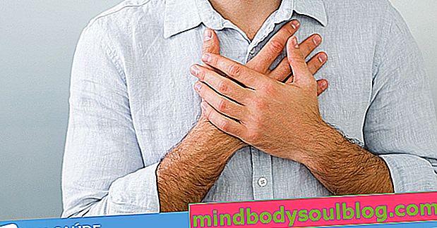 Que peut être une douleur dans le côté droit de la poitrine et que faire